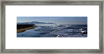 Ocean Beach San Francisco Framed Print