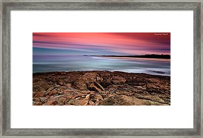 Ocean Beauty 6666 Framed Print