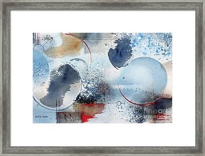 Ocean Blue Framed Print by Monte Toon