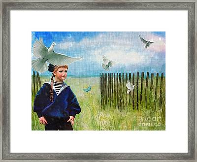 Ocean Breeze Framed Print by Alexis Rotella