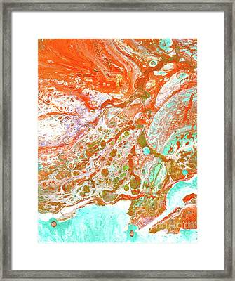 Ocean Breeze Framed Print by Desiree Paquette