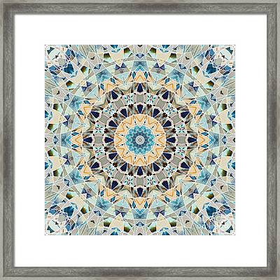 Ocean Breeze -m02 Framed Print by Variance Collections