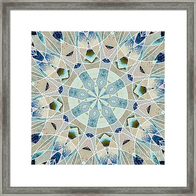 Ocean Breeze - M06 Framed Print by Variance Collections