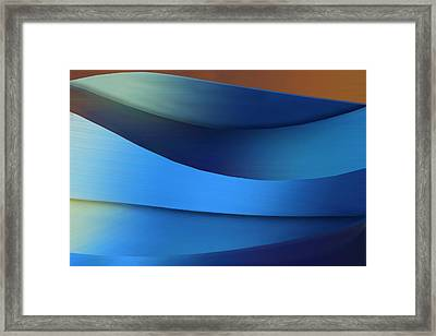 Framed Print featuring the photograph Ocean Breeze by Paul Wear