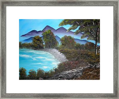 Ocean Breezes Framed Print by Sheldon Morgan