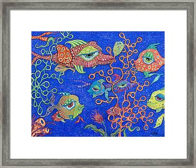 Ocean Carnival Framed Print by Tanielle Childers