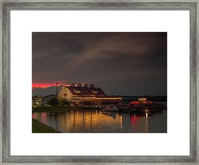 Ocean City Crabhouse Framed Print