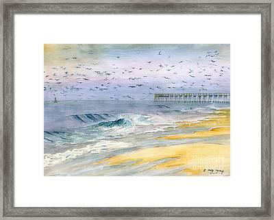 Ocean City Maryland Framed Print