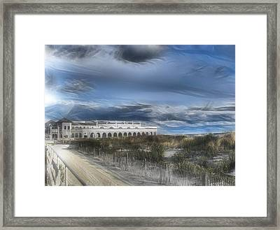 Ocean City Musicpier I Wuz There Framed Print by Kevin  Sherf
