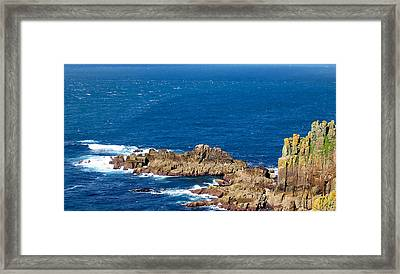 Ocean Cliffs Framed Print by Svetlana Sewell