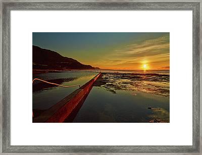 Ocean Dawn Framed Print