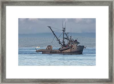 Ocean Destiny Framed Print