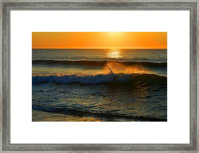 Ocean Dreams Framed Print by Dianne Cowen
