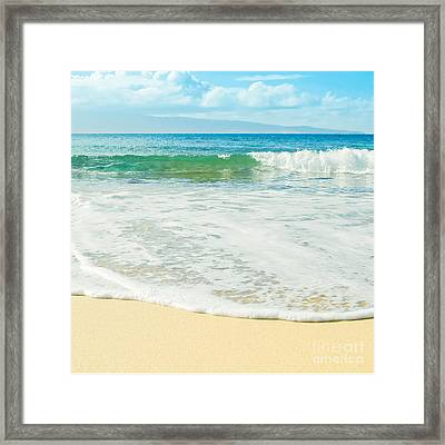 Ocean Dreams Framed Print by Sharon Mau