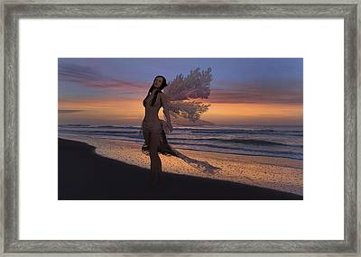 Another Morning Without You Framed Print