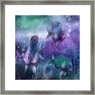 Ocean Fantasy 3 Framed Print