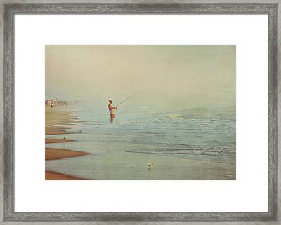 Ocean Fishing Framed Print by JAMART Photography