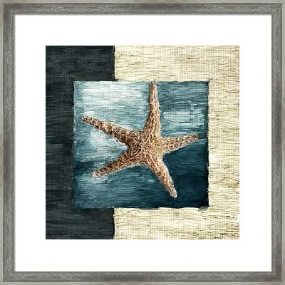 Ocean Gem Framed Print by Lourry Legarde