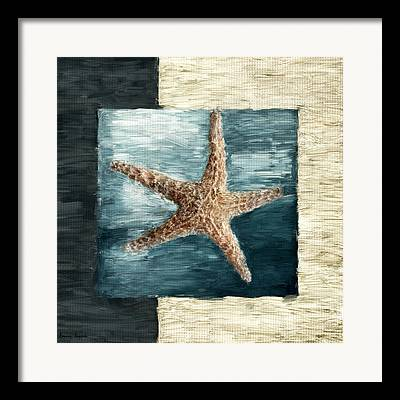 Sea Shell Digital Art Framed Prints
