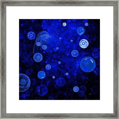 Ocean Gems Framed Print by Menega Sabidussi