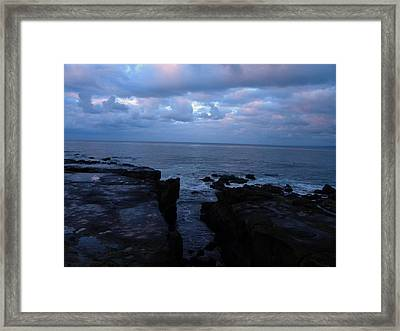 Ocean Framed Print by Guillermo Mason