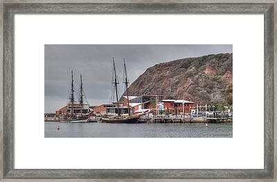 Ocean Instititute Dana Point Framed Print by Cliff Wassmann