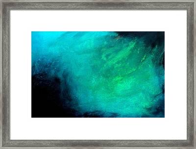 Ocean Framed Print by Izabela Bienko