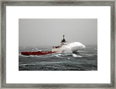 Ocean King Framed Print