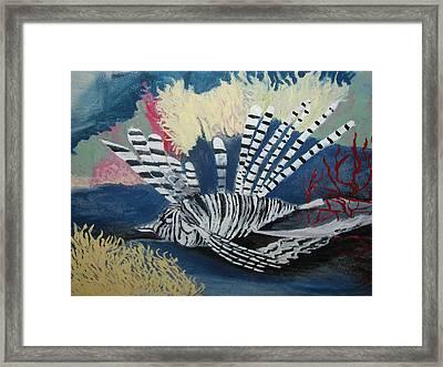 Ocean Life Framed Print