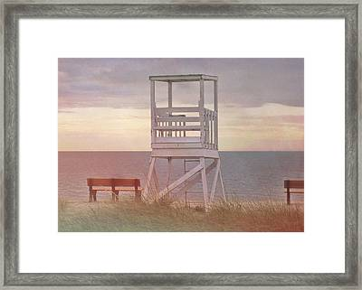 Ocean Lookout Framed Print by JAMART Photography