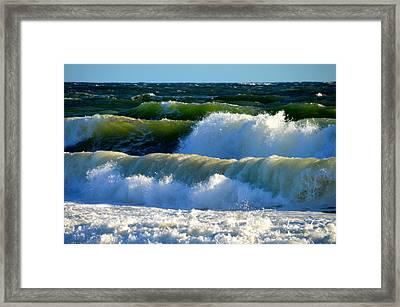 Ocean Majesty Framed Print by Dianne Cowen
