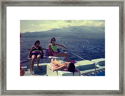 Ocean Framed Print by Michael Morrison