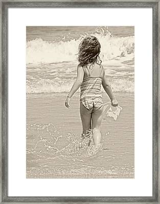 Ocean Moment Framed Print by JAMART Photography