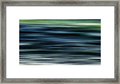 Ocean Movement Framed Print by Stelios Kleanthous
