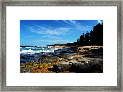 Ocean Perspective Framed Print by Susan Vineyard
