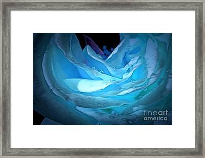 Ocean Petals Framed Print