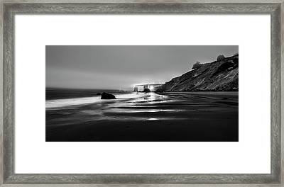 Ocean Rhythm Framed Print by Jon Glaser