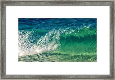 Ocean Ripples Framed Print by Stelios Kleanthous