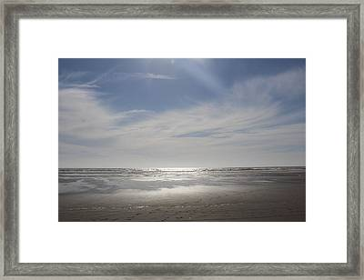 Ocean Shores Framed Print by Suzanne Lorenz