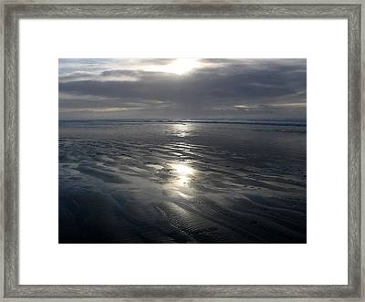 Ocean Shores  Framed Print by Ty Nichols