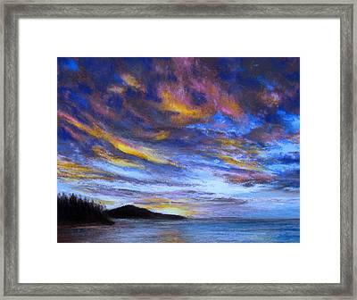 Ocean Sky Framed Print