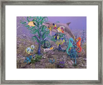 Ocean Spirits Framed Print