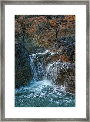 Ocean Splash Framed Print by Svetlana Sewell