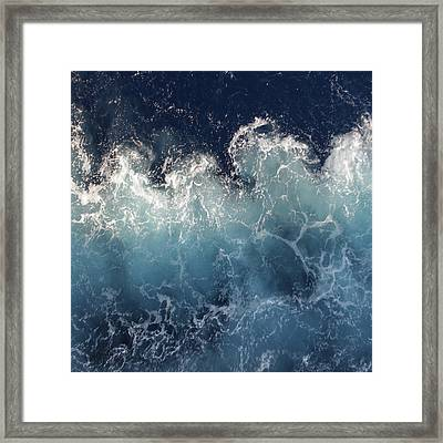 Ocean Spray Framed Print by Suzanne Carter