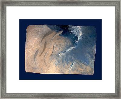 Ocean Framed Print by Steve Karol