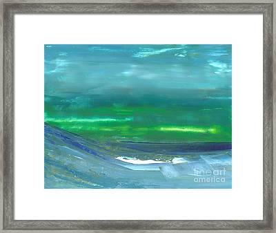 Ocean Swell Framed Print