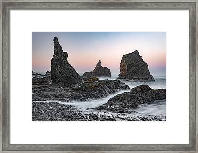Ocean Textures Framed Print