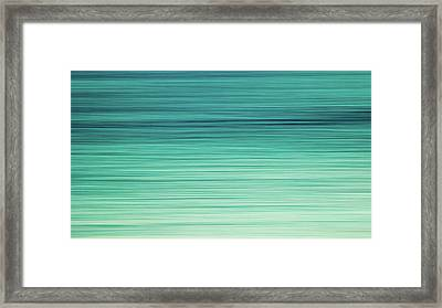 Ocean Tranquility Framed Print by Stelios Kleanthous