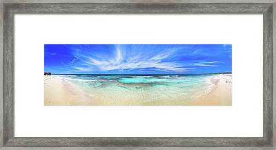 Framed Print featuring the photograph Ocean Tranquility, Yanchep by Dave Catley