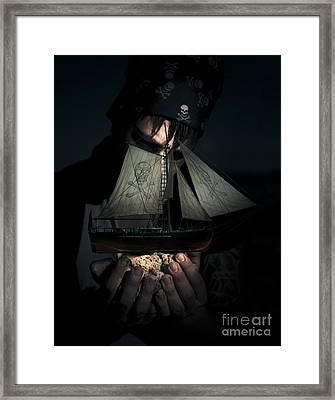 Ocean Treasure Framed Print by Jorgo Photography - Wall Art Gallery